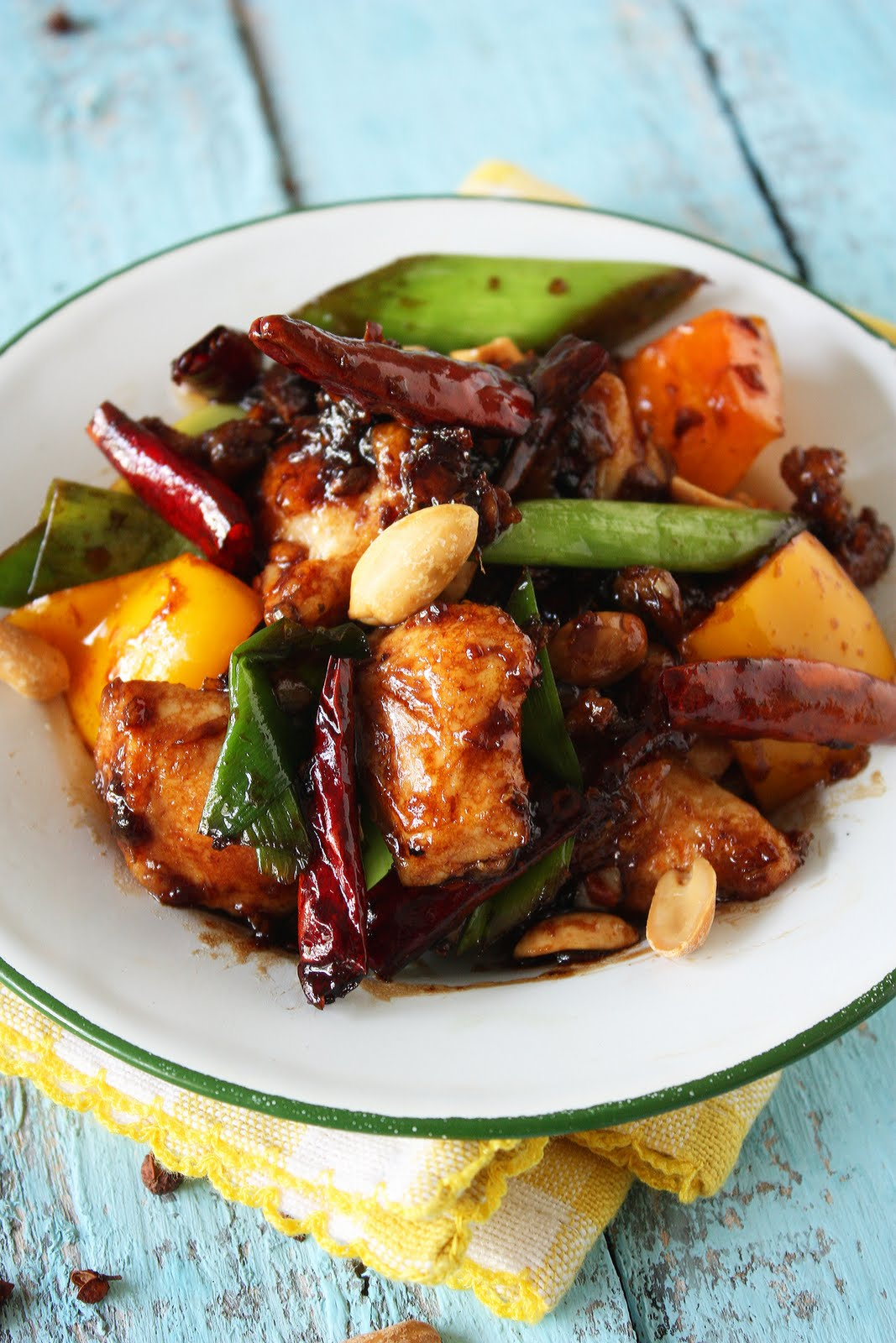 Cherry on a Cake: KUNG PAO CHICKEN