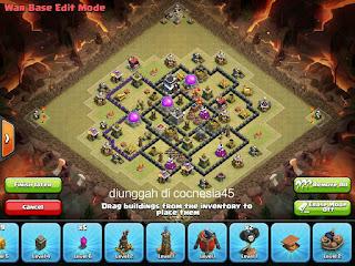 Base Clash of Clans TH 8 Terbaik 4