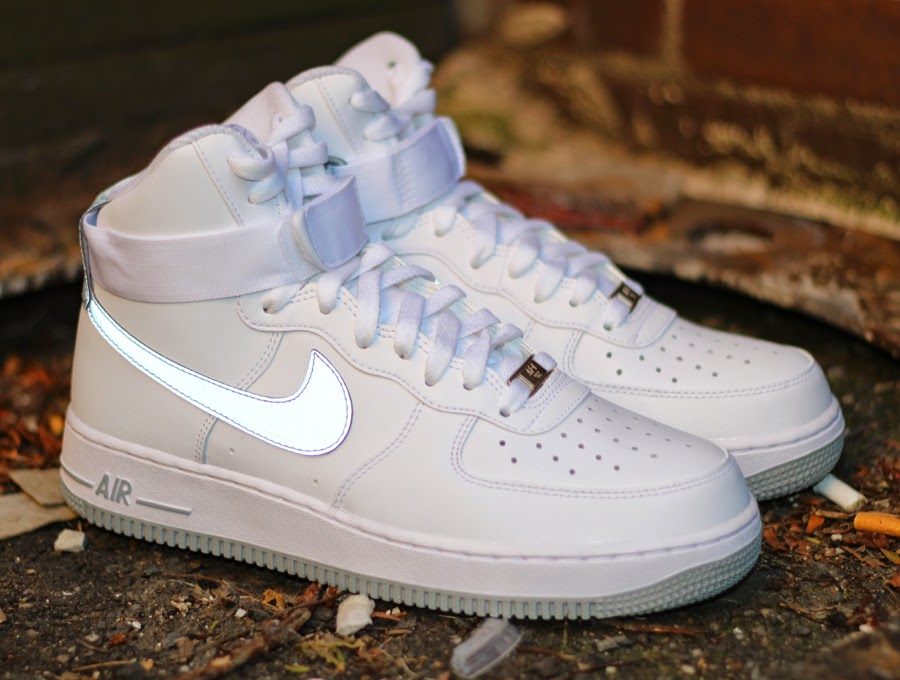 white spot women nike air force 1 high top nike high tops. Black Bedroom Furniture Sets. Home Design Ideas