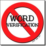 TIP! NO TO WORD VERIFICATION