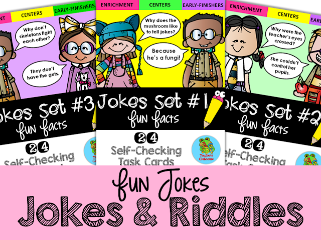 https://www.teacherspayteachers.com/Product/Fun-Facts-Jokes-Edition-Self-Checking-Task-Cards-2314171