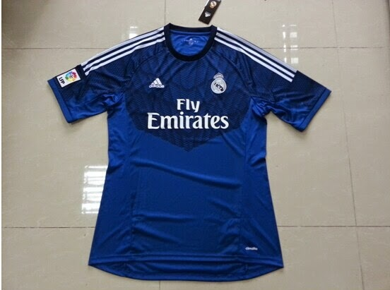 Jersey Real Madrid Away GoalKeeper 2014-15 Motif Jaring Spaiderman