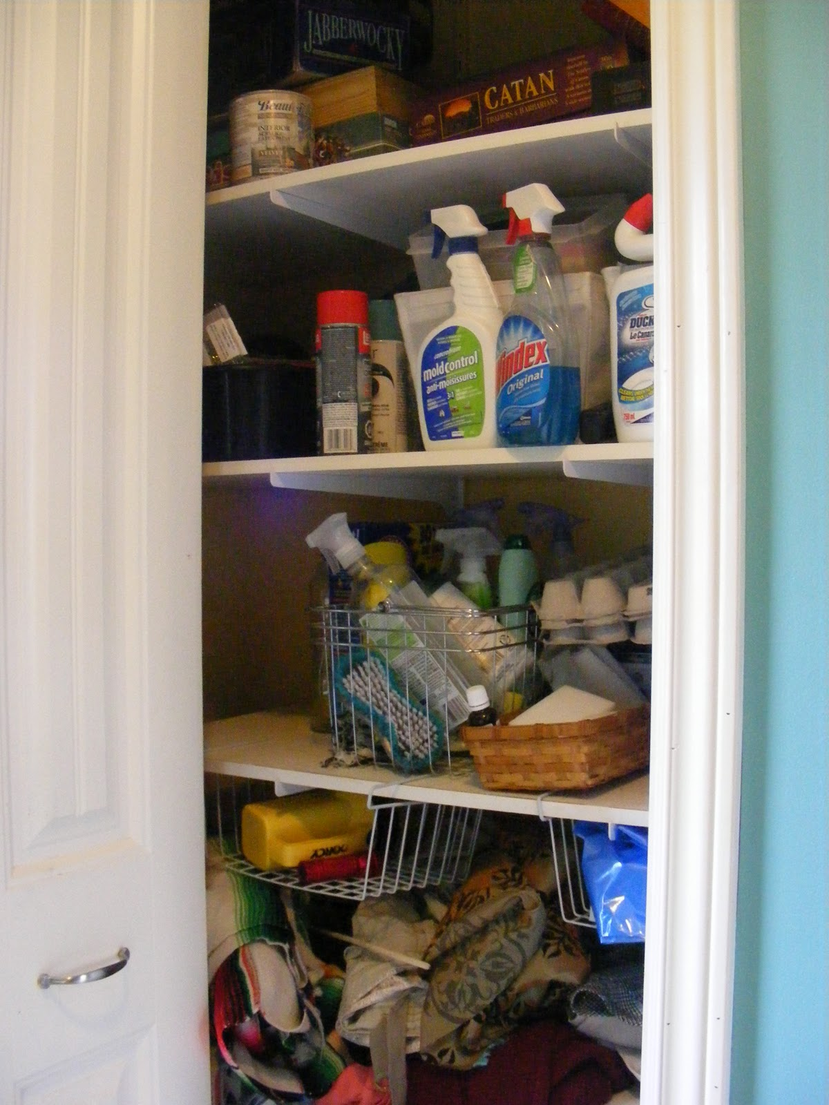{organizedhome} day 28: laundry room organization | the complete guide to imperfect homemaking