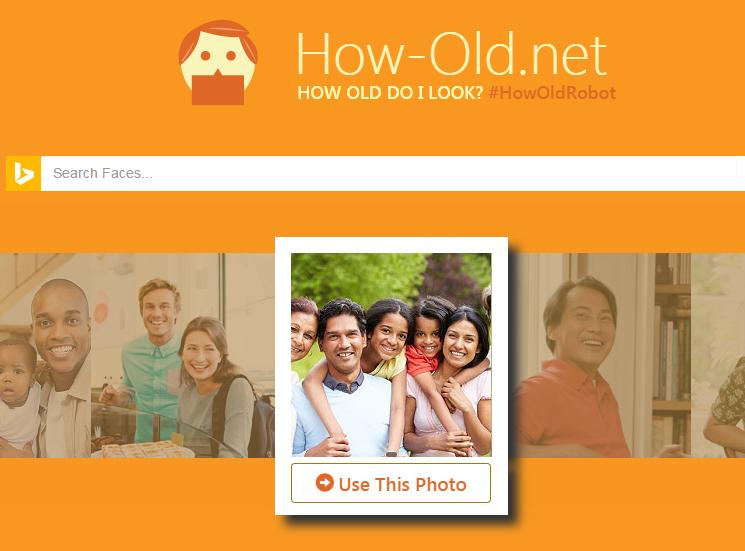 Microsoft How-Old.net