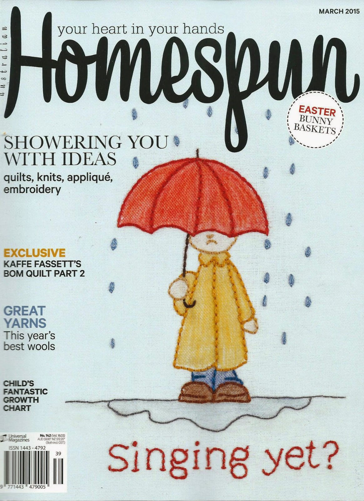 Seen in Homespun March 2015