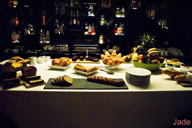 hotel o petit dejeuner buffet