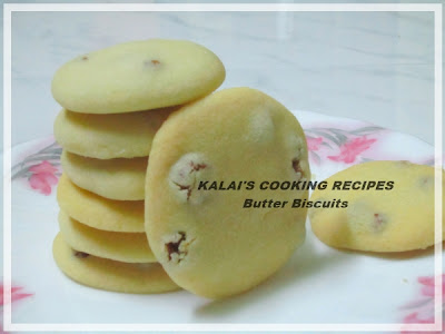 Crispy Raisins Butter Biscuits Flavoured With Rose Water
