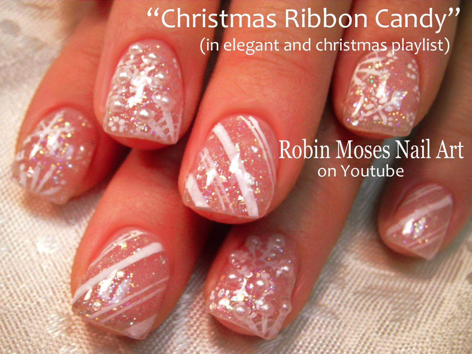 Robin moses nail art christmas bows nail art xmas presents on play now prinsesfo Gallery
