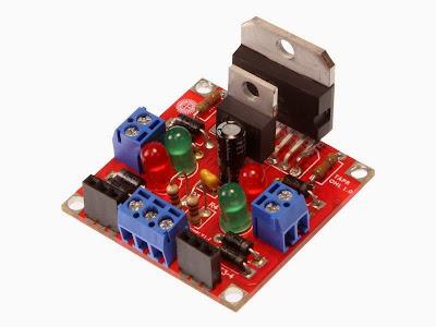 PCB jadi driver motor L298