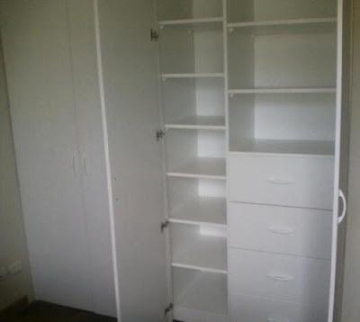 Rinnovare closet en melamina for Armado de closet de melamina