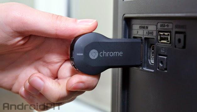 Chromecast chega ao Brasil em maio por 199 reais