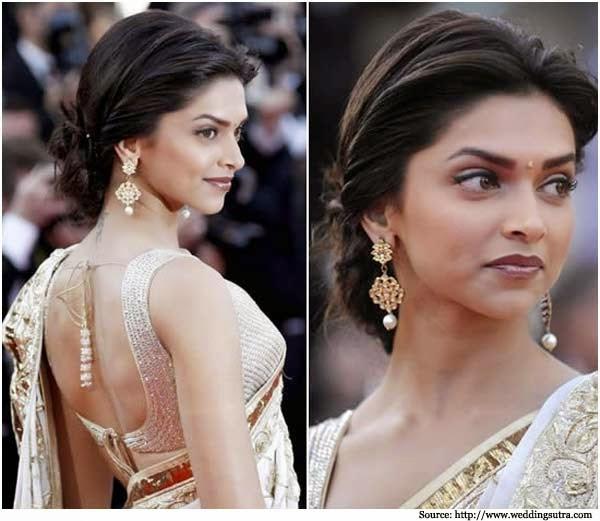 Deepika Padukone is saree