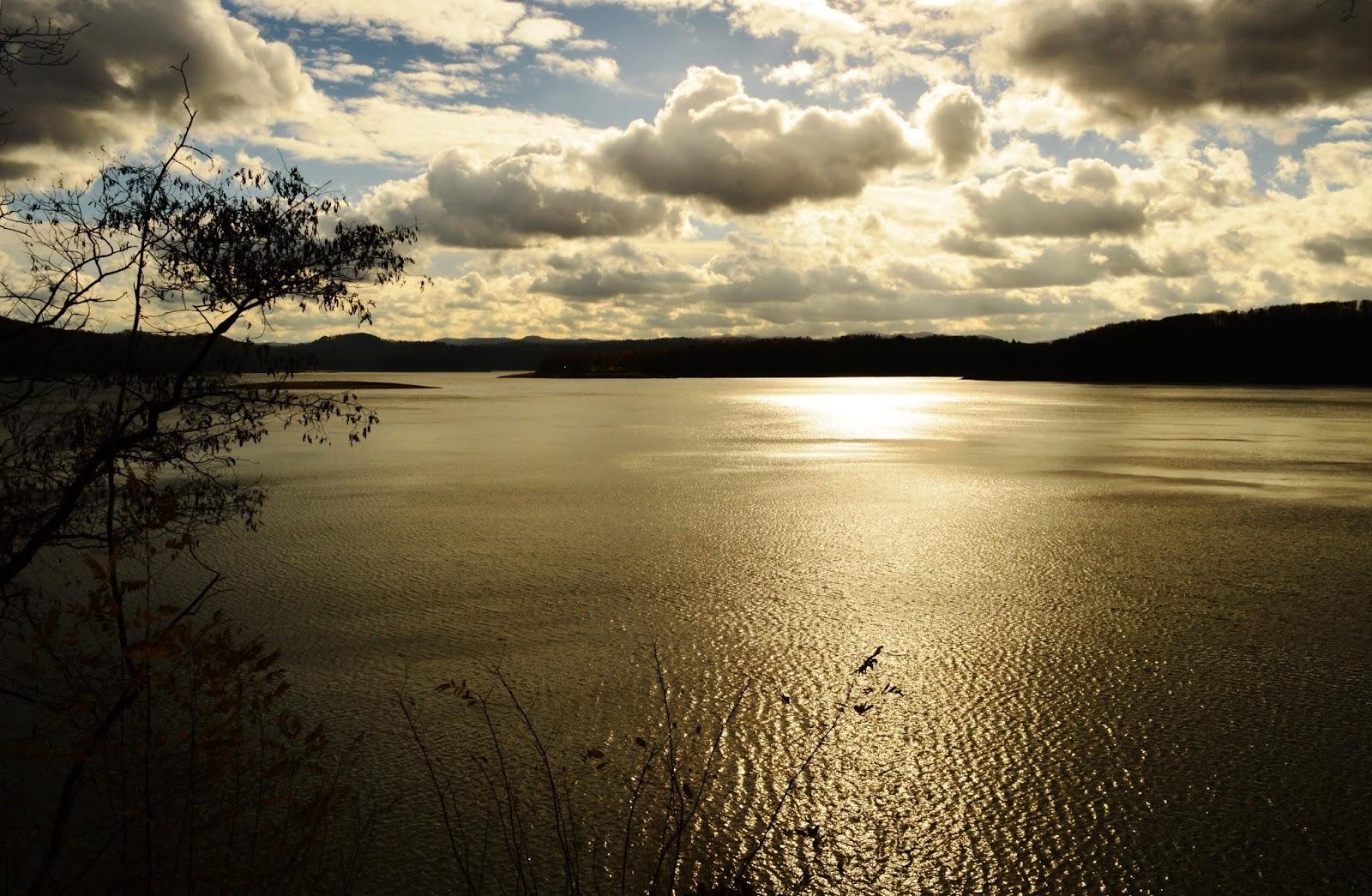 Krajobraz Jezioro Solińskie