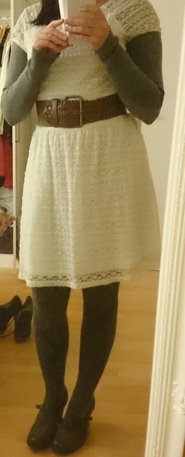 Sommerkleidchen im Winter