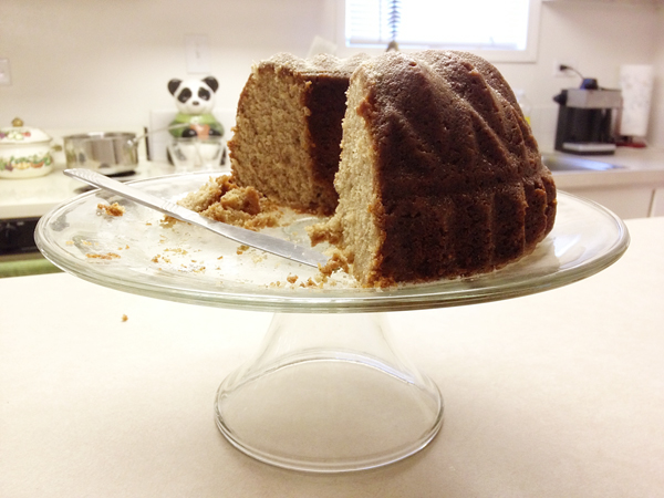 Miss Kitty and the Bears: Spiced Bundt Cake with Whiskey Coffee Glaze