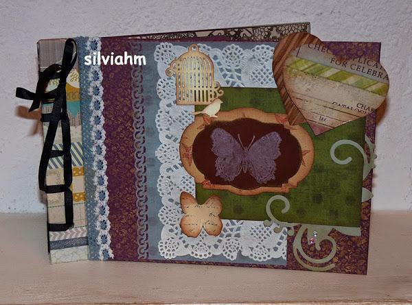 Scrapbooking caja - Como hacer un album scrapbook ...
