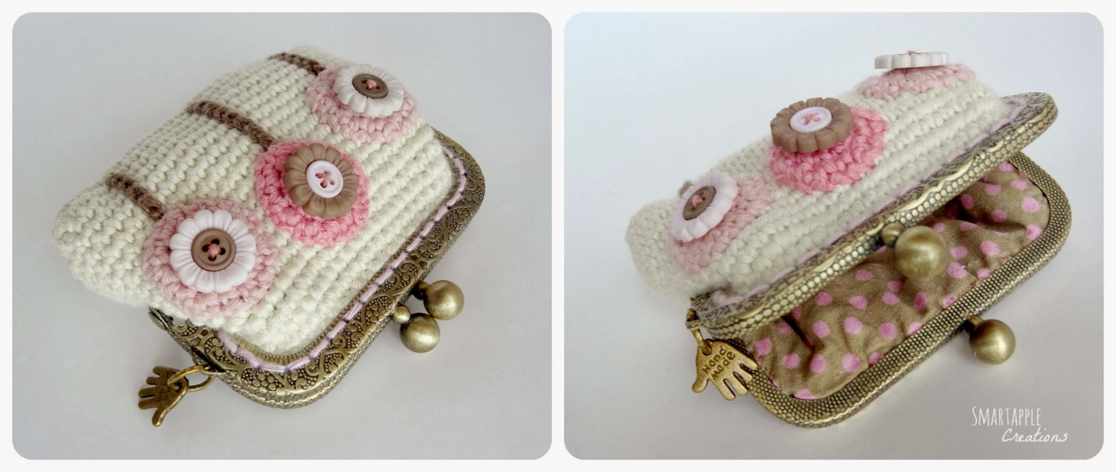 ... - amigurumi and crochet: Crocheted purses, pouches and phone cases