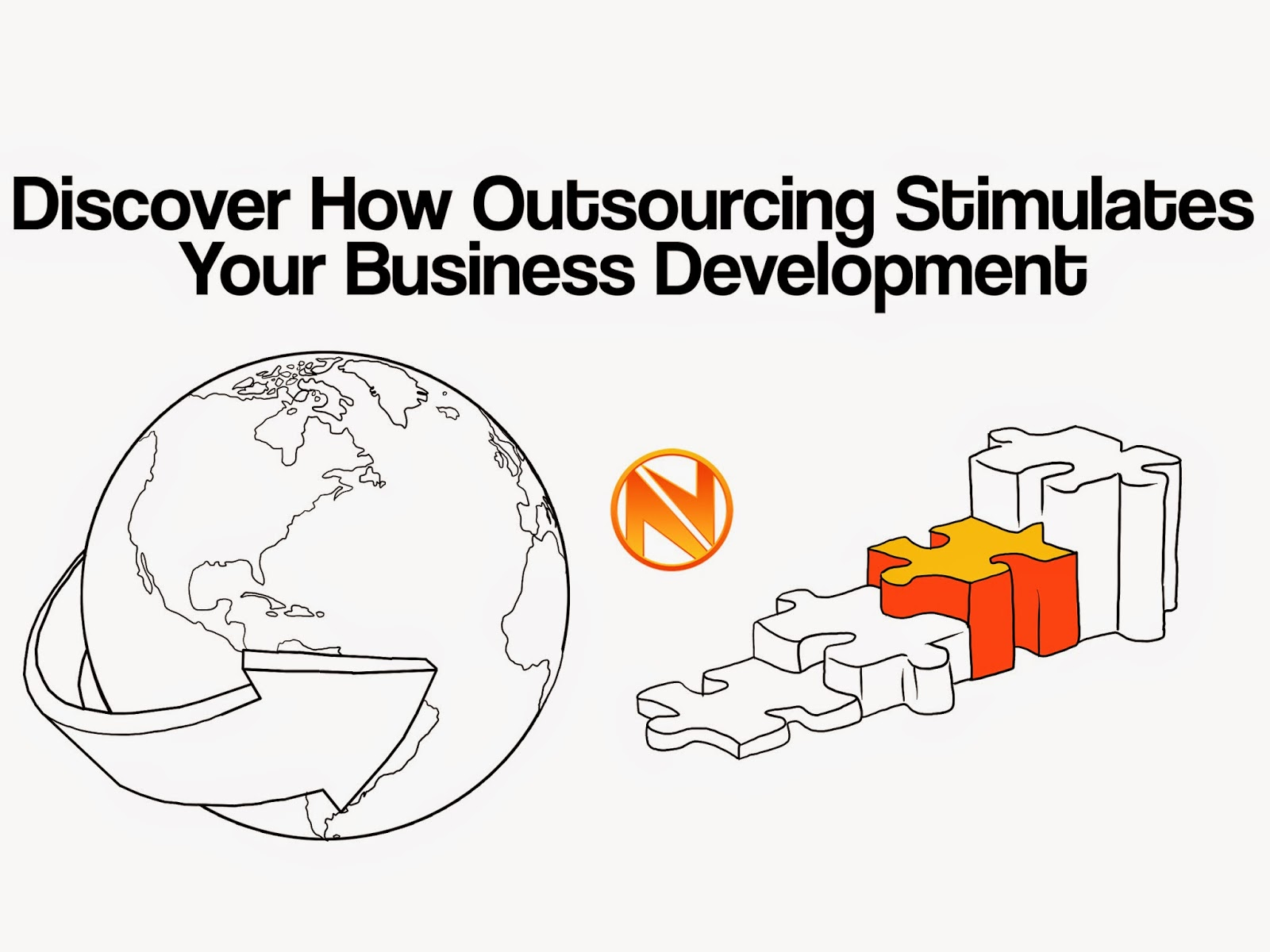 global outsourcing stimulates growth