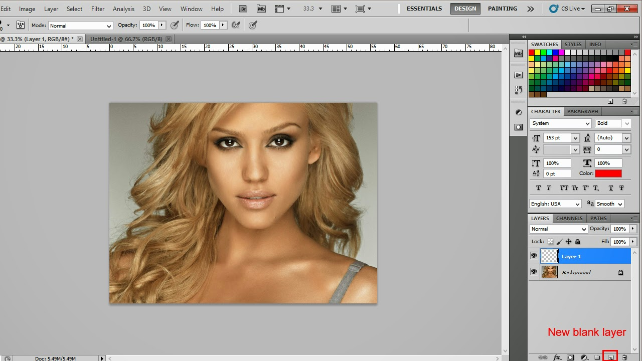 Change hair color using photoshop photoediting tutorials open photoshop file browse your photo baditri Choice Image