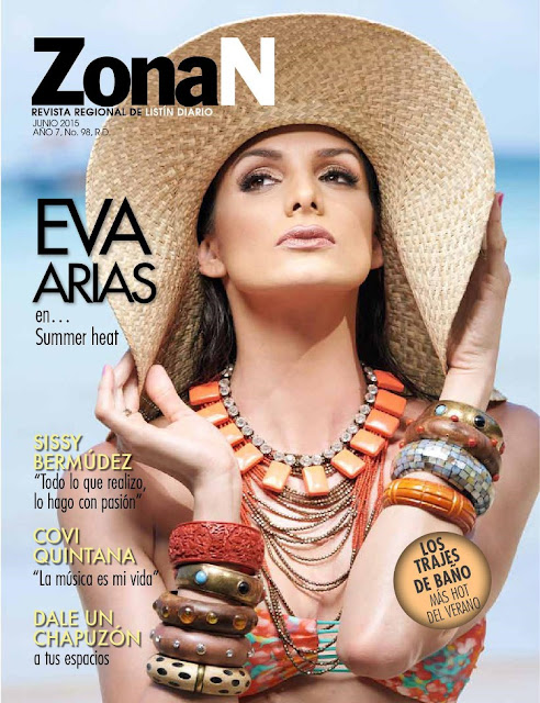 Model @ Eva Arias - ZonaN, June 2015