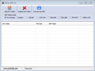 AVI to 3GP Video Converter Full Version ~ Size 5MB