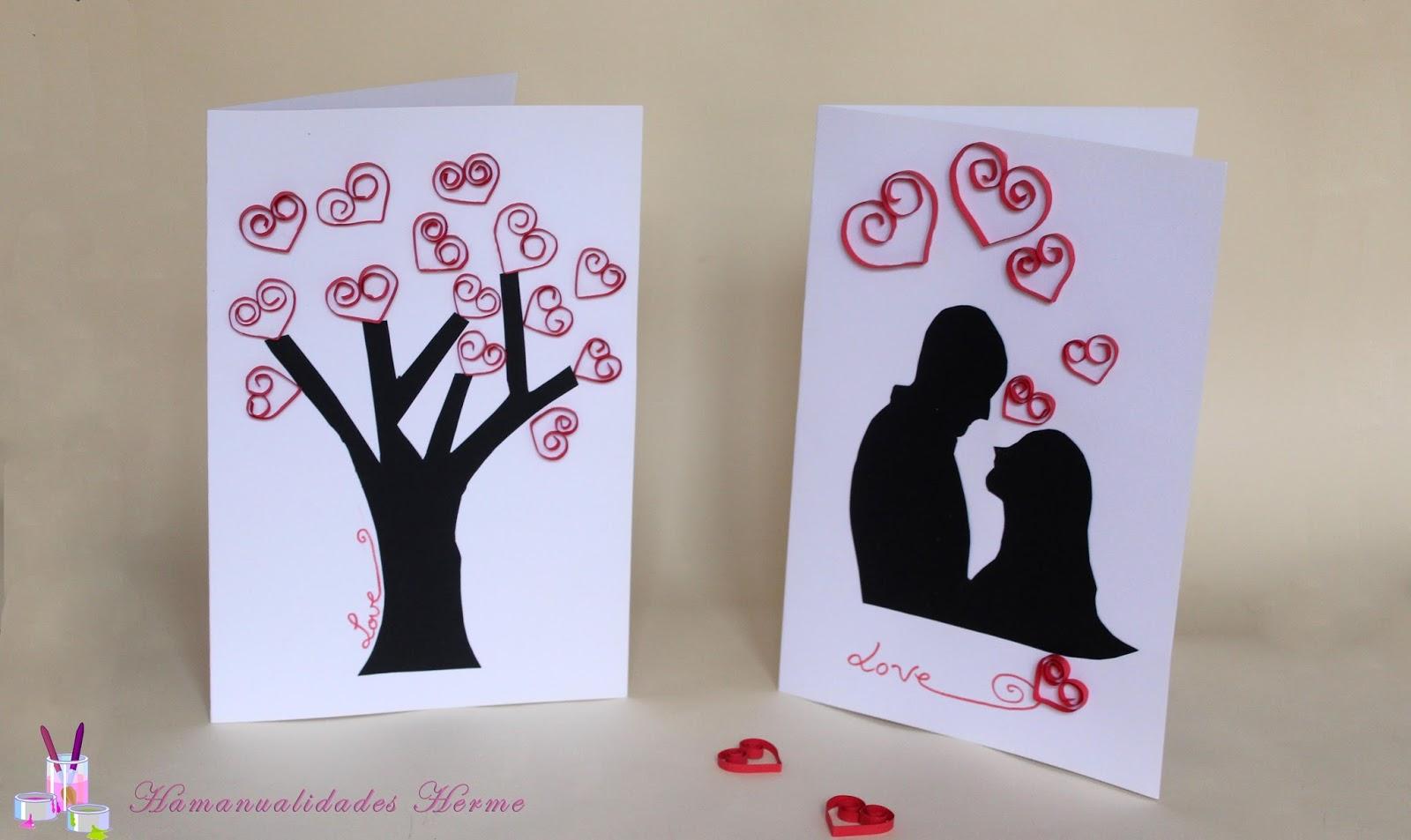 Como hacer una tarjeta de aniversario para mi novio como - Como hacer manualidades ...