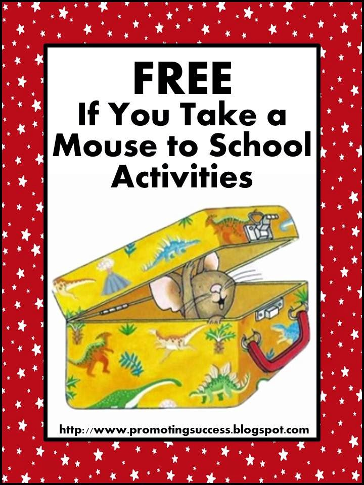 Printables If You Take A Mouse To School Worksheets promoting success if you take a mouse to school activities activities