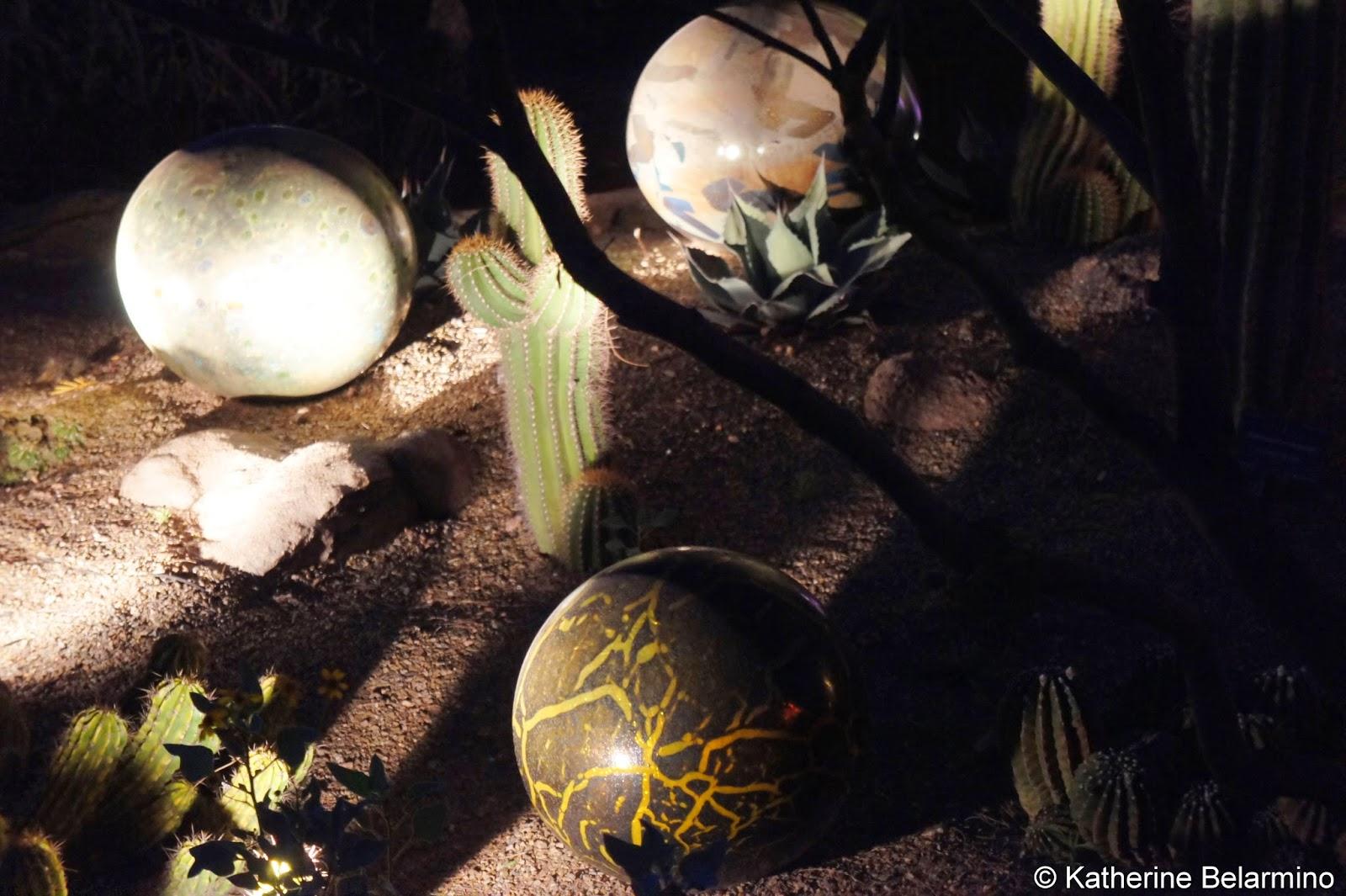 Dale Chihuly Globes Desert Botanical Garden Phoenix Arizona