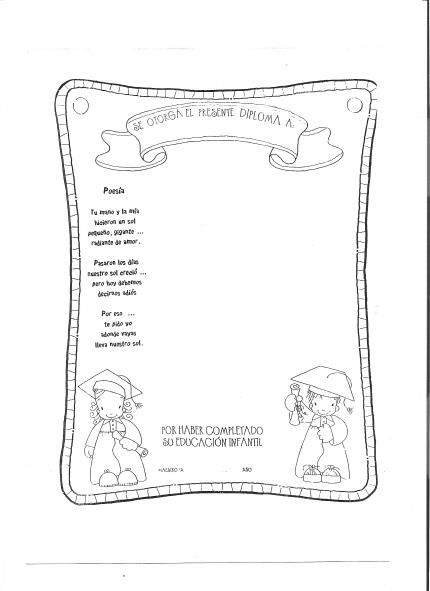 Gorros de egresados para jardin for Jardin inscripcion 2016