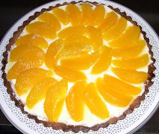 crostata all'arancio