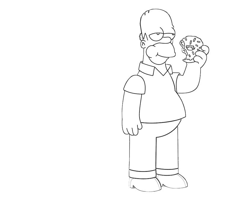 printable-homer-simpson-eat-coloring-pages
