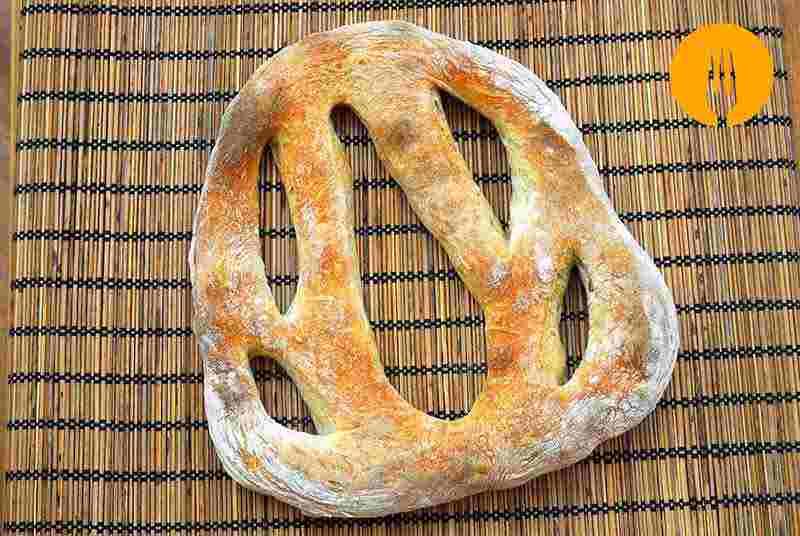 Fougasse recetas de panes t picos de francia recetas de for Aperitivos tipicos de francia