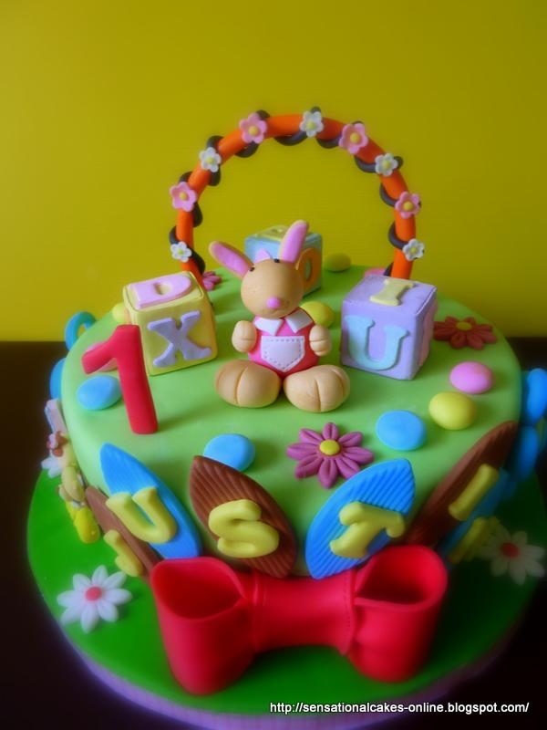 Theme Cake Singapore / 1st Year Birthday / Bunny Cake / Mini Cake ...