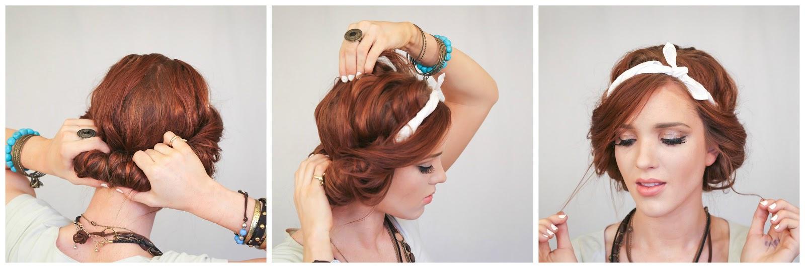 The freckled fox festival hair week easy headscarf roll baditri Gallery