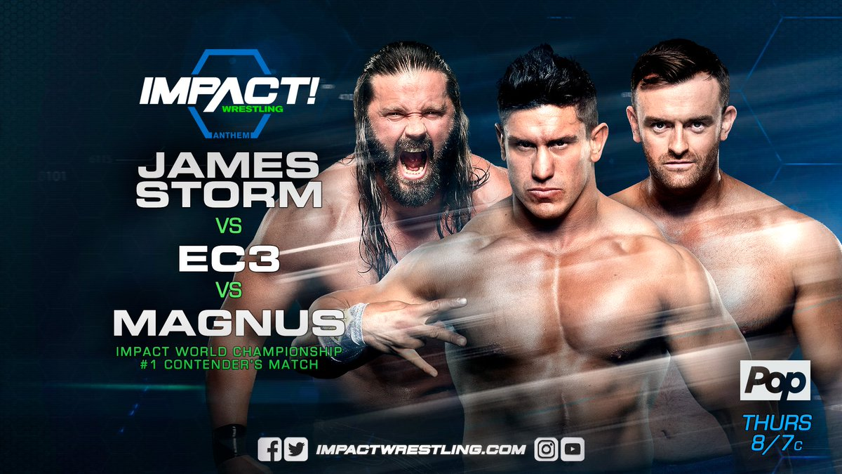 James Storm vs EC3 vs Magnus