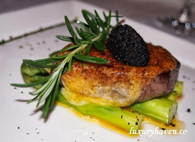 oso ristorante bukit pasoh beef tenderloin filetto truffle