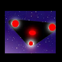UFO in Triangle Form