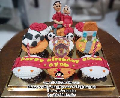 Cupcake Manchester United Tema Keluarga