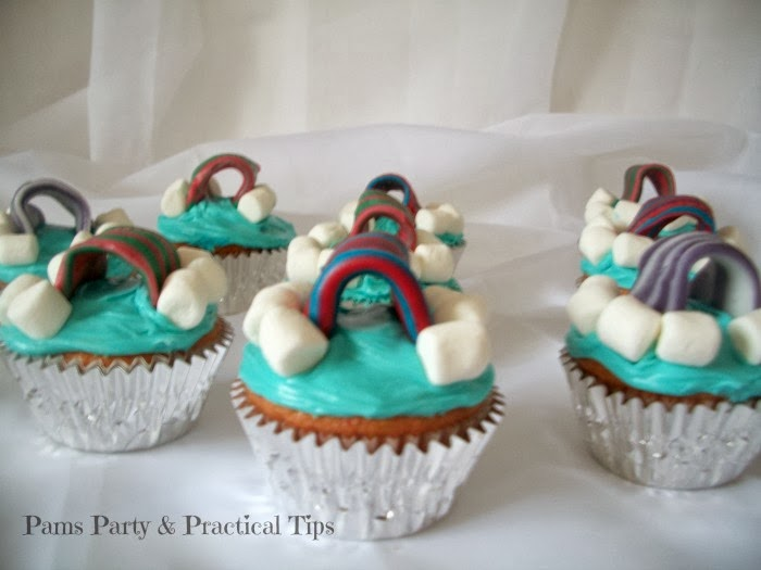 LEGO Movie Cloud Cuckooland Party Cupcakes