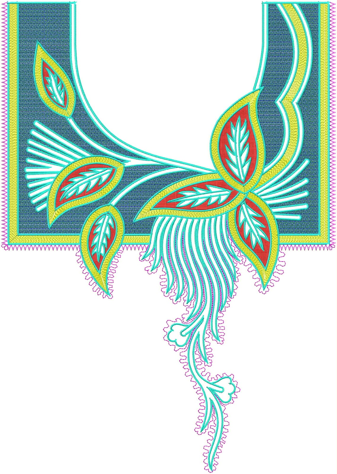 Blouse Embroidery Designs Free Download