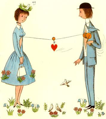 Il filo del cuore ricami dettagli di stile - Foto di innamorati a letto ...