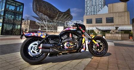 Gambar Motor Unik Harley Davidson