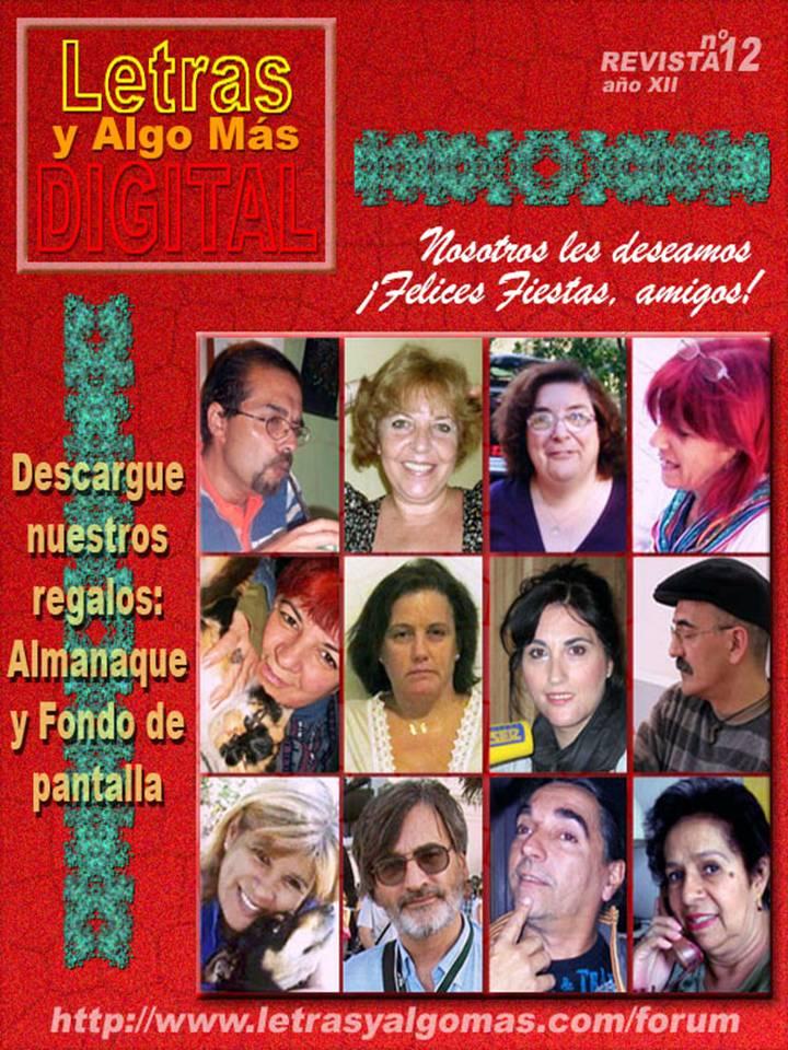 Revista Digital Nº 12 Diciembre de 2012  Portada