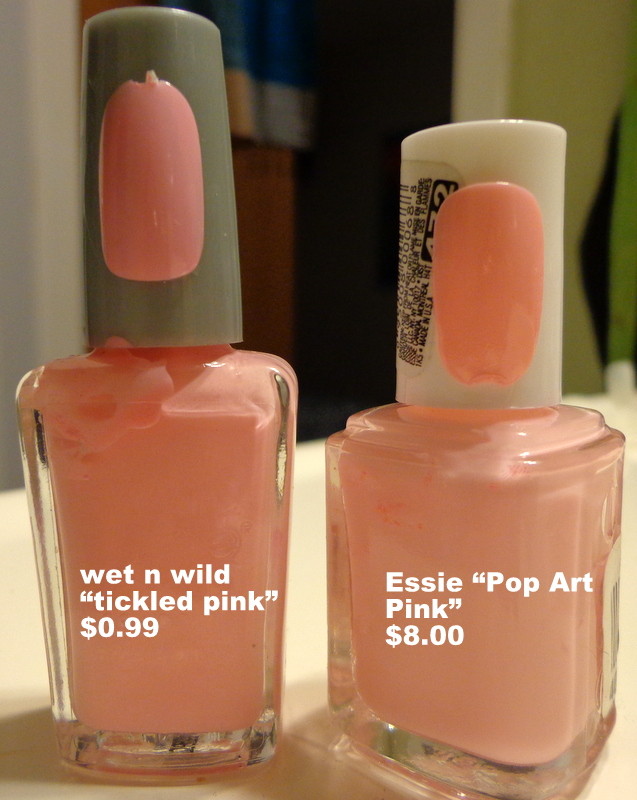 Nailed to the Post: Inexpensive Essie Nail Polish Dupe