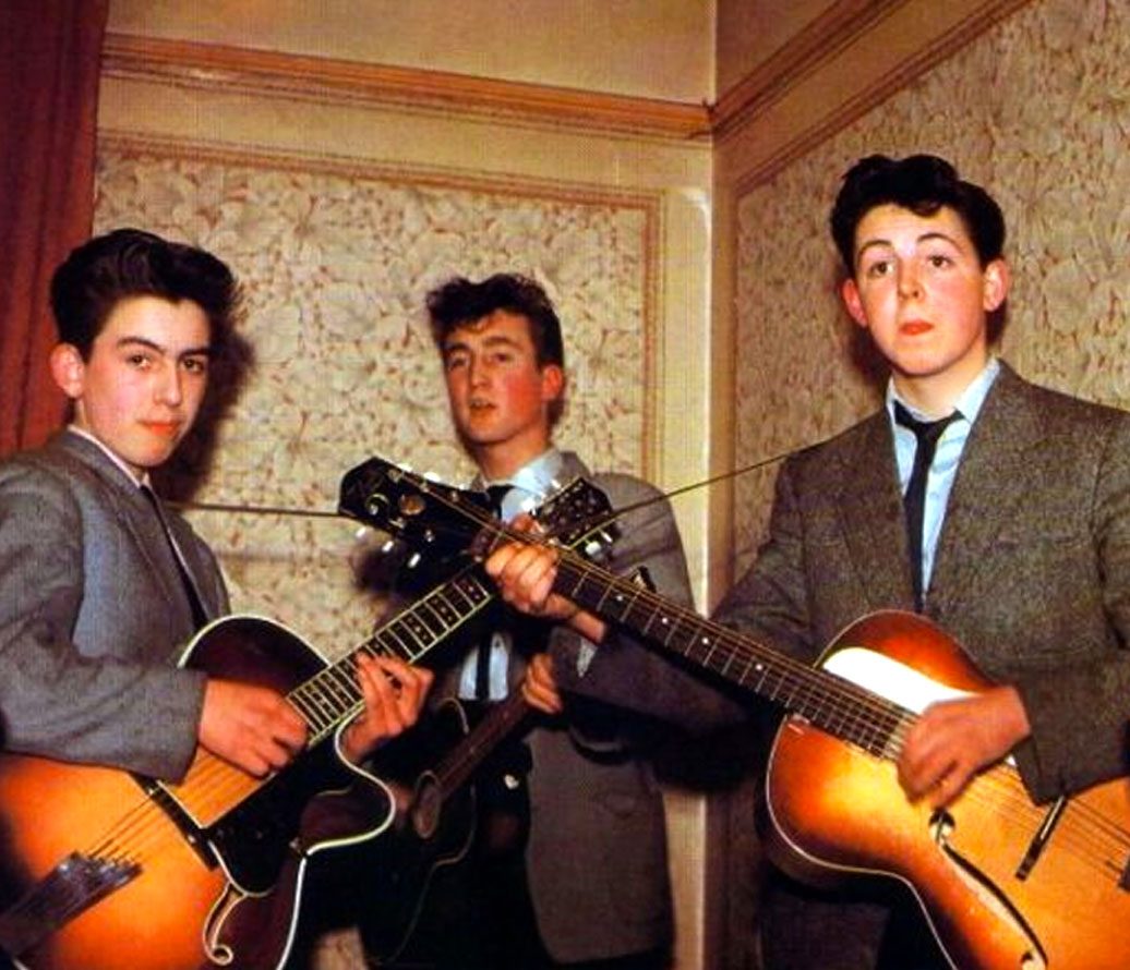 http://3.bp.blogspot.com/-ok8SgoVRshg/TpD4iGWw0XI/AAAAAAAALT8/HD1Z3LzPXKY/s1600/George-Harrioson-and-John-Lennon-and-Paul-McCartney-in-1957.jpg