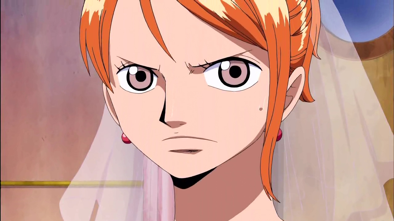 One Piece Nami En El Baño:One Piece Nami