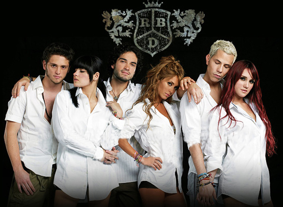 musical rbd fotos: