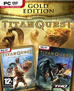 Titan Quest: Gold Edition PC Box