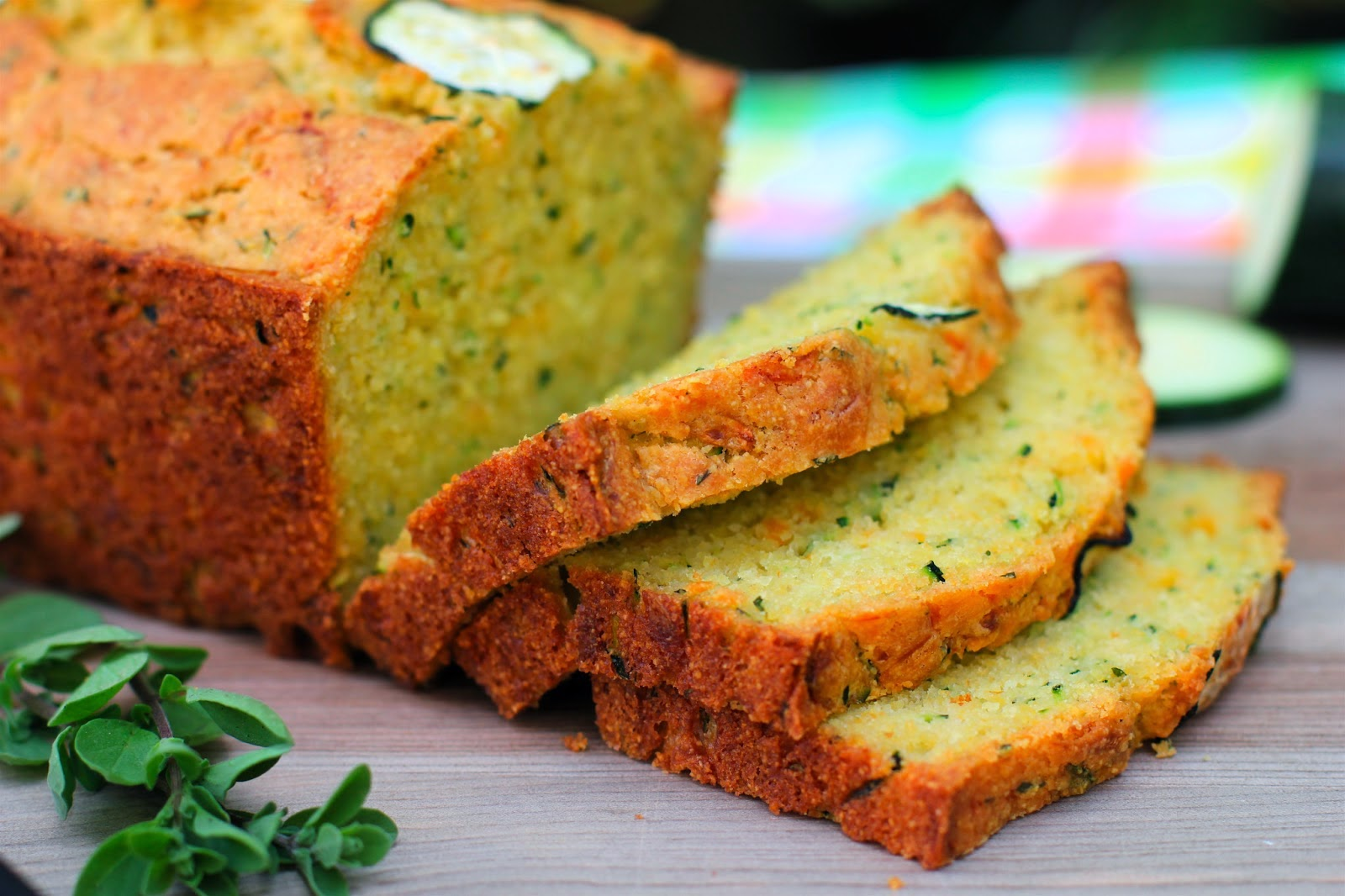 Cheesy Zucchini Cornbread