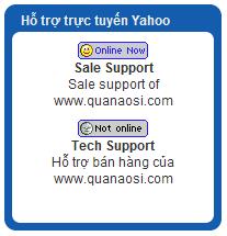 hỗ trợ trực tuyến Yahoo cho Joomla